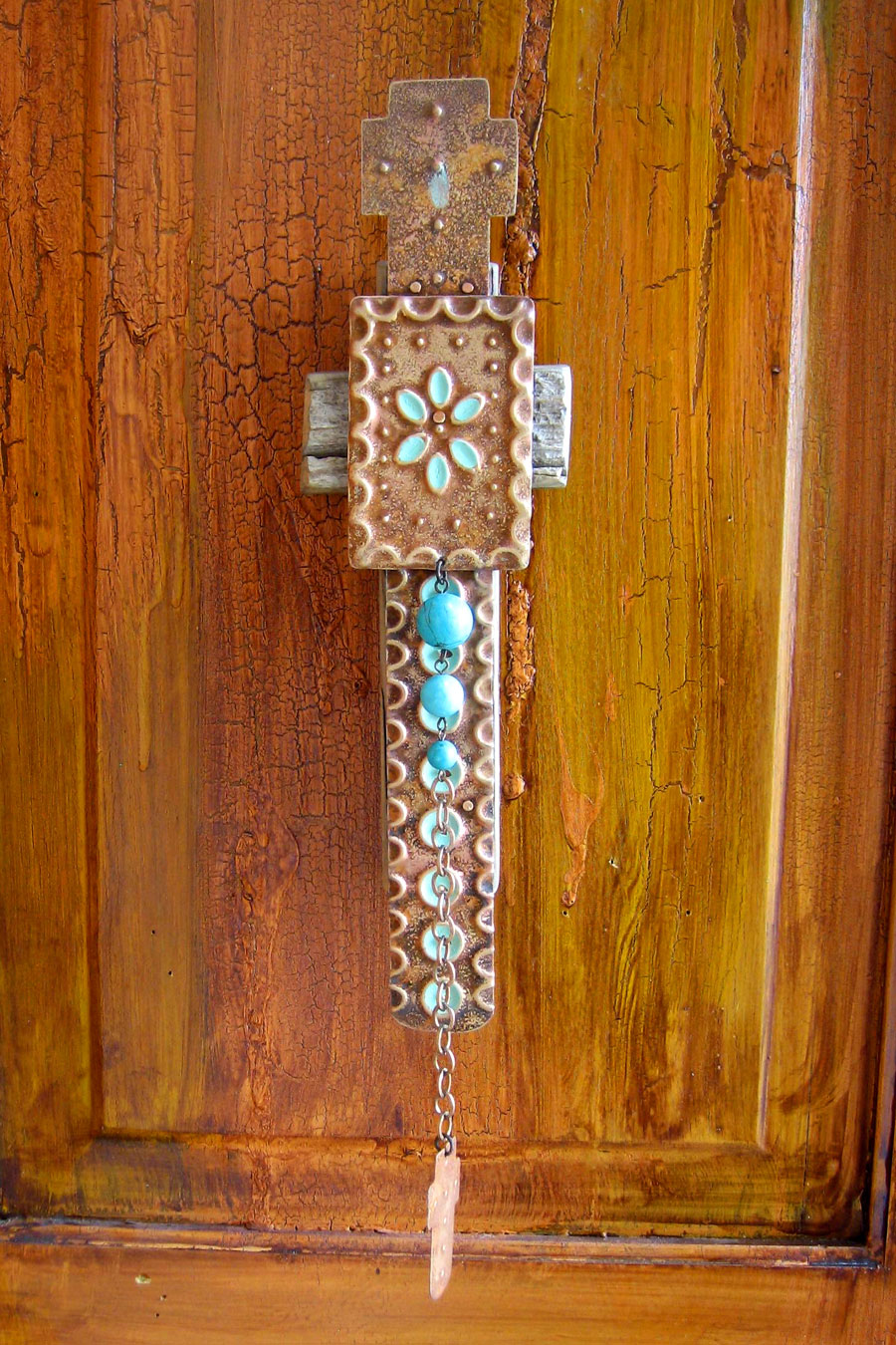 Barn Wood Dangle Cross