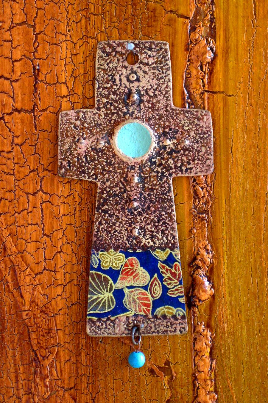 Cowboy Cross Ornament
