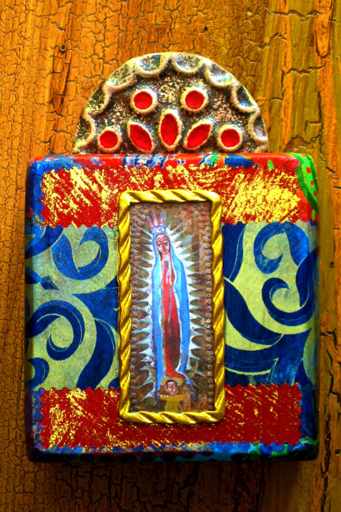 Guadalupe Block Shrine