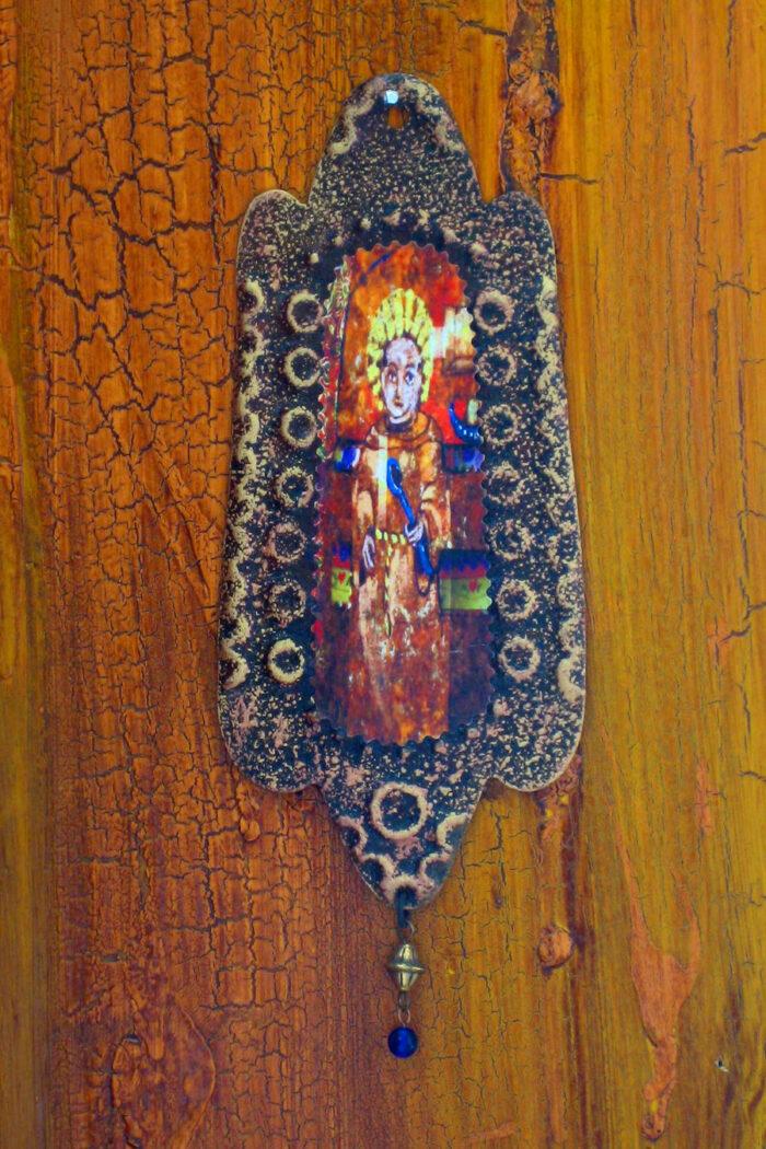 San Pasqual Rusty Retablo Ornament