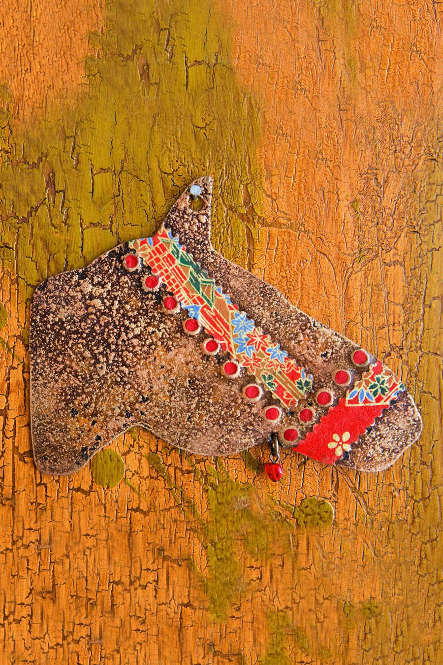 Cowboy Horse Ornament
