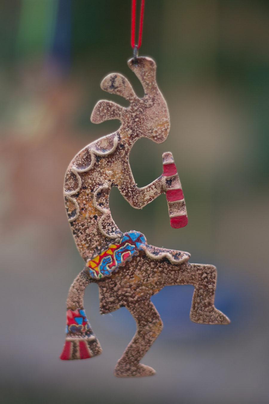 Mimbres Kokopelli Ornament