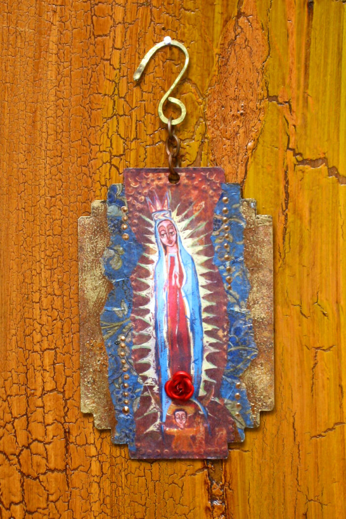 New Guadalupe Pueblo Deco Ornament