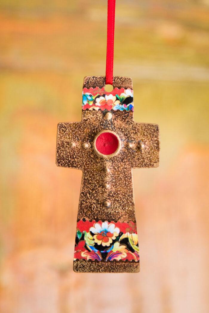 Sundance Cross Ornament