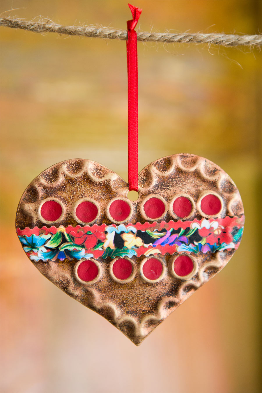 Sundance Heart Ornament
