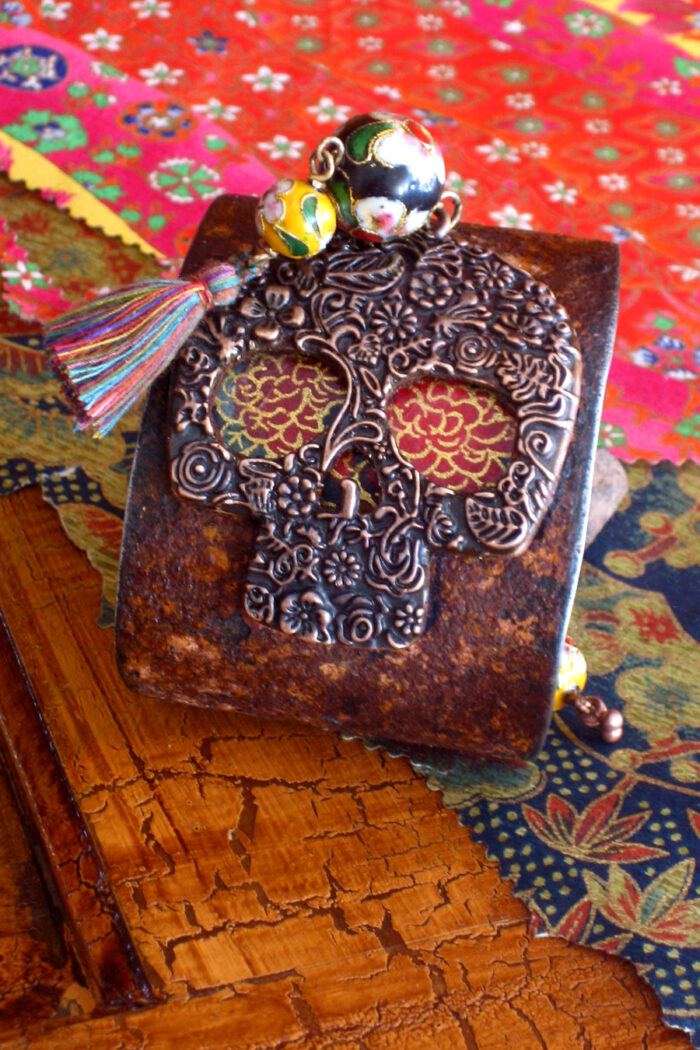 Day of the Dead Tassel Cuff A